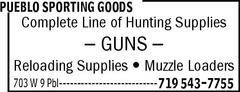 Pueblo Sporting Goods